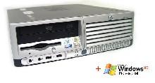HP DC7700SFF Core2Duo 2GB RAM, 160GB HDD (Like NEW) + Софтуер Microsoft Windows XP Pro