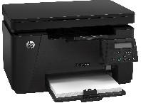 Лазарен принтер HP LaserJet Pro M125nw мултифункционален